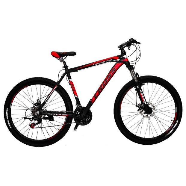 Фото Горный Велосипед Cross Hunter 27.5 черно-красно-белый