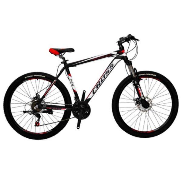 Фото Подростковый Велосипед Cross Hunter 26 черно-красно-белый