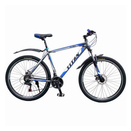 Фото Горный Велосипед Titan Flash 29 черно-бело-синий