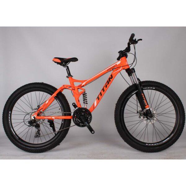 Фото Велосипед Фетбайк Titan Appache 26 оранжево-черный
