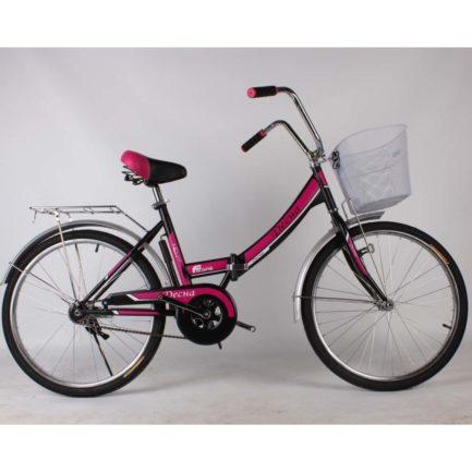 Фото Городской Велосипед Titan Десна 20 черно-розовый