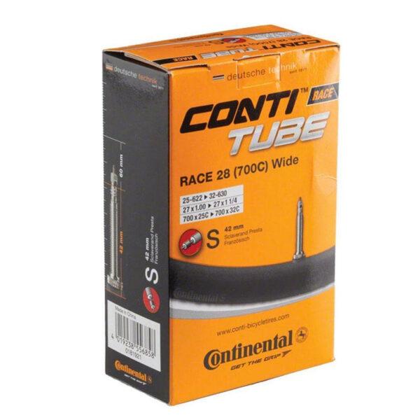 "Фото Камера Continental Race 28"" Training, 25-622 -> 32-630, PR60mm"
