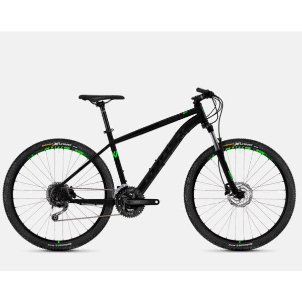 "Фото Велосипед Ghost Kato 4.7 27.5"" , рама M , черно-зеленый"