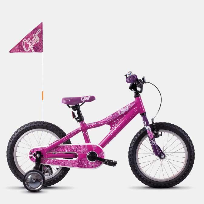 Фото Велосипед Ghost POWERKID 16″  2019