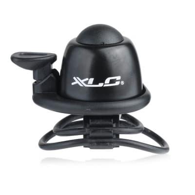 Фото Звонок велосипедный XLC DD-M07, черный, Ø22,2-31,8 мм