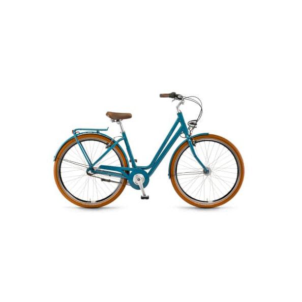 Фото Велосипед Winora Jade 28″3s Nexus, рама 52см,голубой, 2019