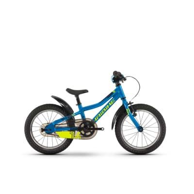 Фото Велосипед Haibike SEET  Greedy 16″, рама 21 см, голубой/салатовый/черный, 2019