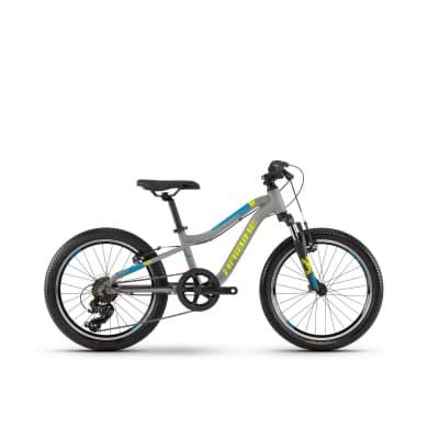 Фото Велосипед Haibike SEET  Greedy 20″ , рама 26 см,серый/салатовый/голубой, 2019