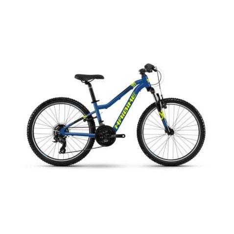 Фото Велосипед Haibike SEET  HardFour Life 1.0 24″ , рама   XS, синий/желтый/черный, 2019