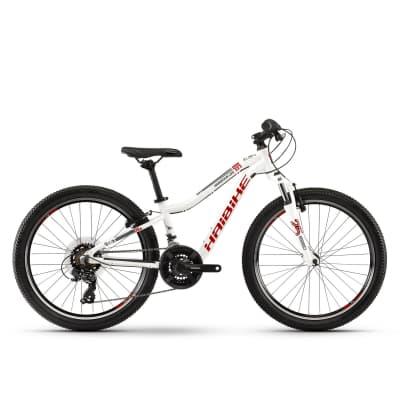 Фото Велосипед Haibike SEET  HardFour Life 1.0 24″, рама XS, бело-красно-антрацитовый, 2019