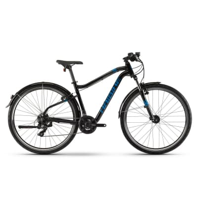 Фото Велосипед Haibike SEET HardNine 1.5 Street  Tourney 29″, рама S, черно-сине-титановый,  2019