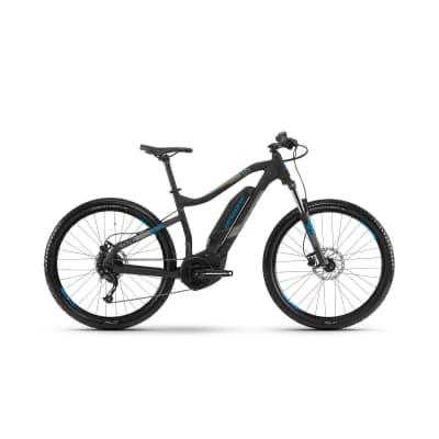 Фото Велосипед Haibike SDURO  HardSeven 1.0 400Wh  , рама  S, черный/серый/синий матовый, 2019