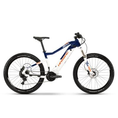 Фото Велосипед Haibike SDURO HardSeven 5.0 27,5″ i500Wh, рама L, бело-сине-оранжевый, 2019