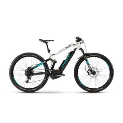 Фото Велосипед Haibike SDURO FullNine 7.0 500Wh , рама M, черный/серый/бирюзовый, 2019