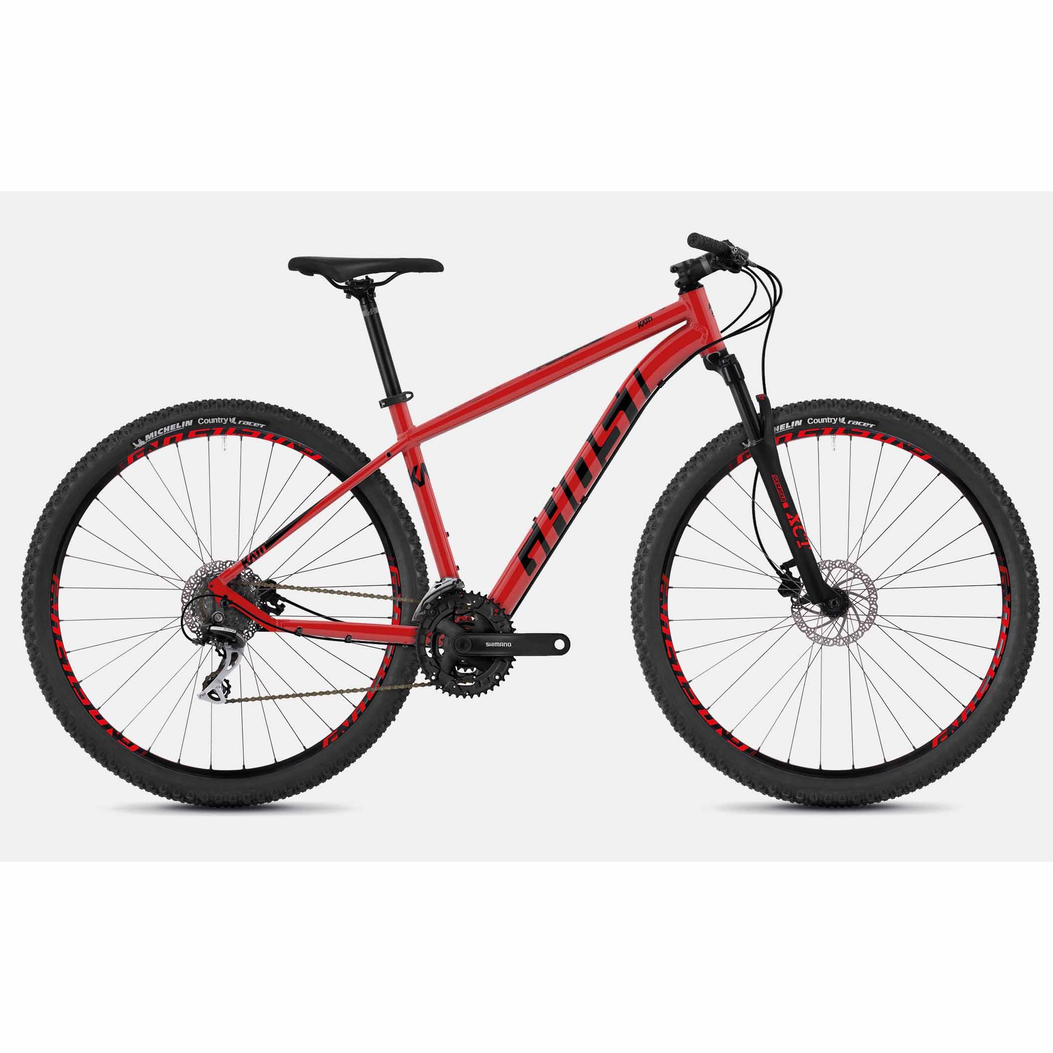 Фото Велосипед Ghost Kato 2.9 29″ , рама S, красно-черный , 2019