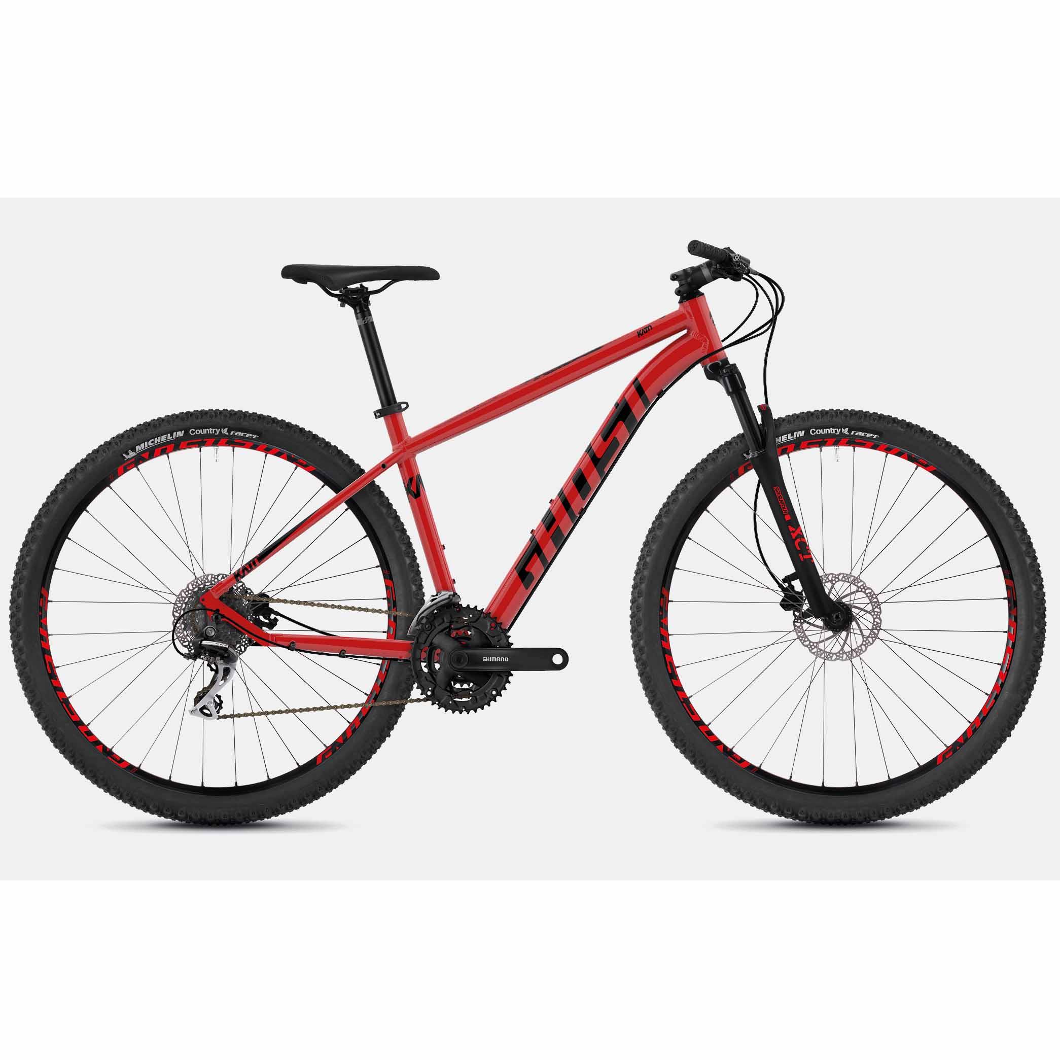 Фото Велосипед Ghost Kato 2.9 29″ , рама  L,красно-черный,  2019
