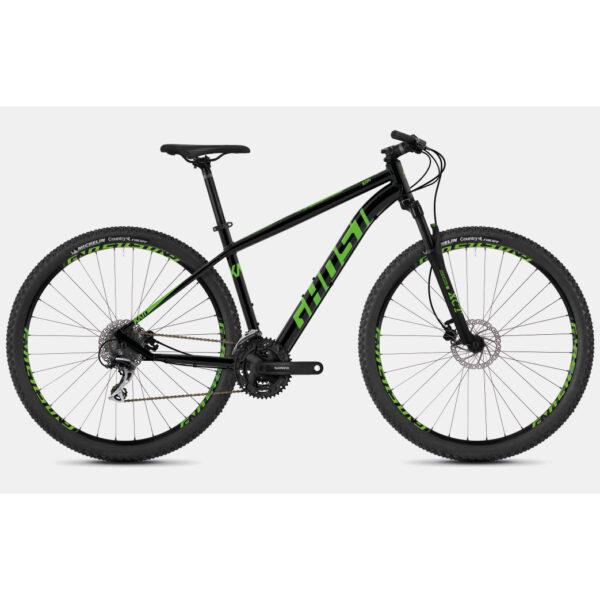 "Фото Велосипед Ghost Kato 2.7 27,5"" черно-зеленый, M, 2019"