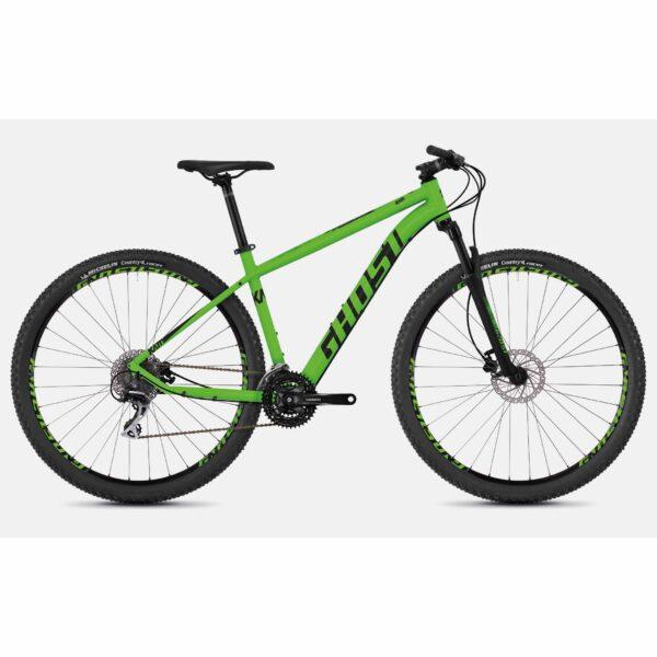 "Фото Велосипед Ghost Kato 3.9 29"" , рама S, зелено-черный, 2019"