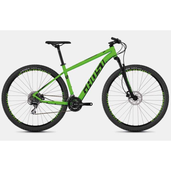 "Фото Велосипед Ghost Kato 3.7 27.5"" , рама  L, зелено-черный, 2019"