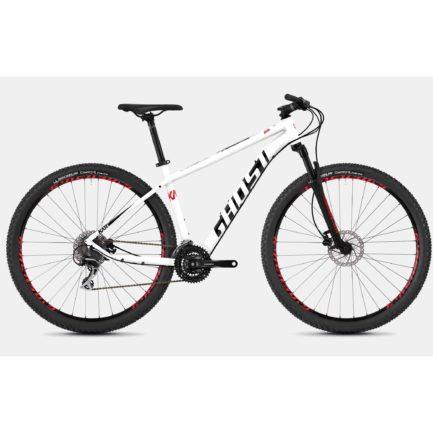 "Фото Велосипед Ghost Kato 3.9 29"", рама  S, бело-красно-черный, 2019"