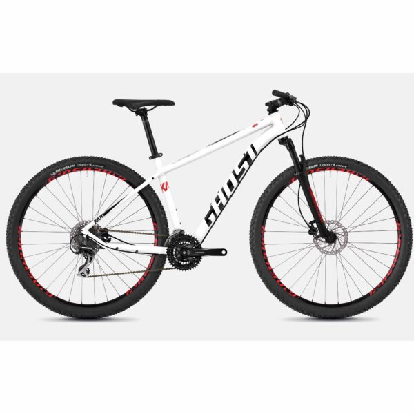 "Фото Велосипед Ghost Kato 3.9 29"",  рама XL,  бело-красно-черный, 2019"
