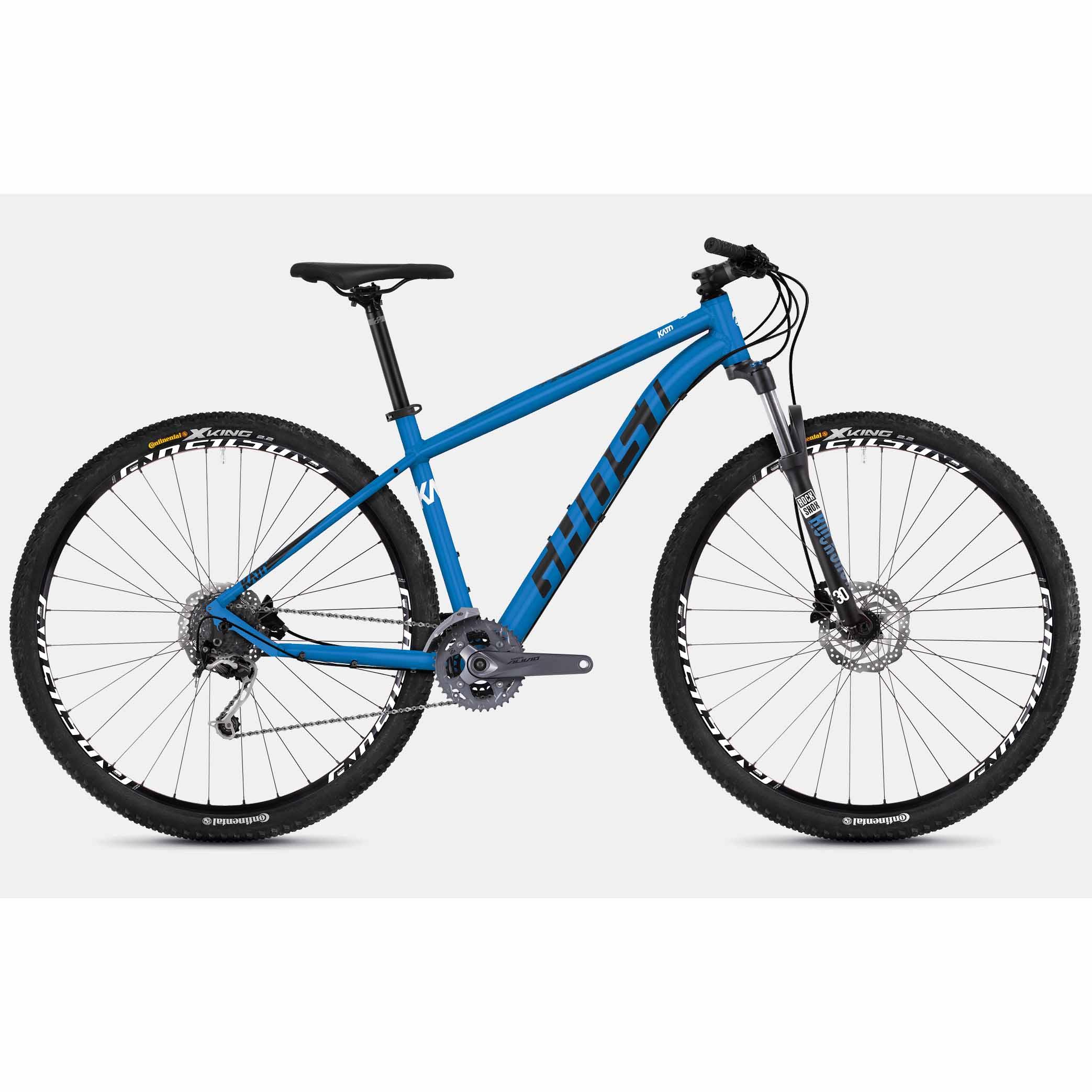 Фото Велосипед Ghost Kato 5.9 29″ , рама S, сине-черно-белый, 2019