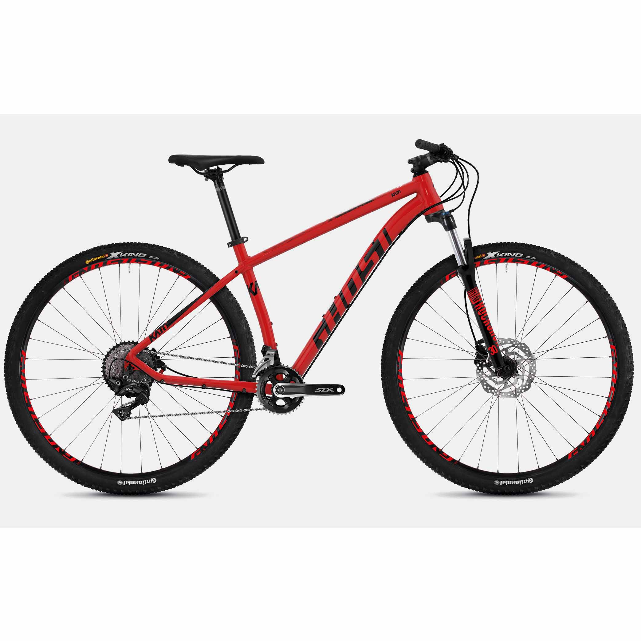 Фото Велосипед Ghost Kato 7.9 29″, рама L, красно-черный, 2019