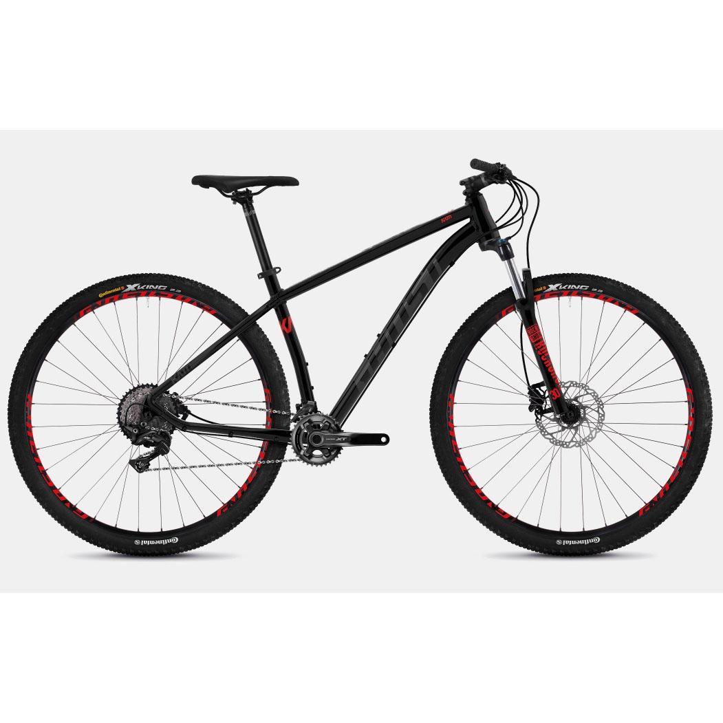 Фото Велосипед Ghost Kato 9.9 29″ черно-серо-красный, L, 2019