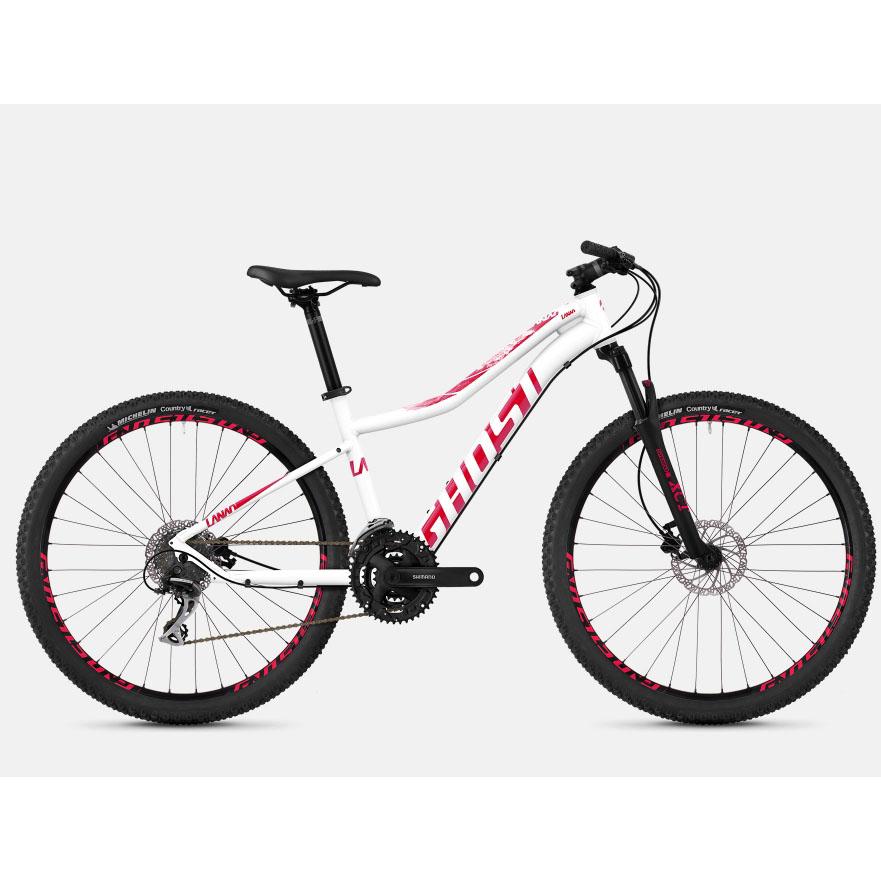 Фото Велосипед Ghost Lanao 2.7 27.5″,  рама M, бело-розовый, 2019