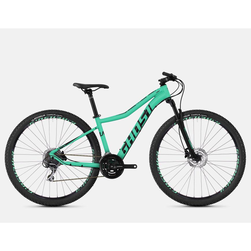 Фото Велосипед Ghost Lanao 3.9 29″, рама L, сине-черный, 2019