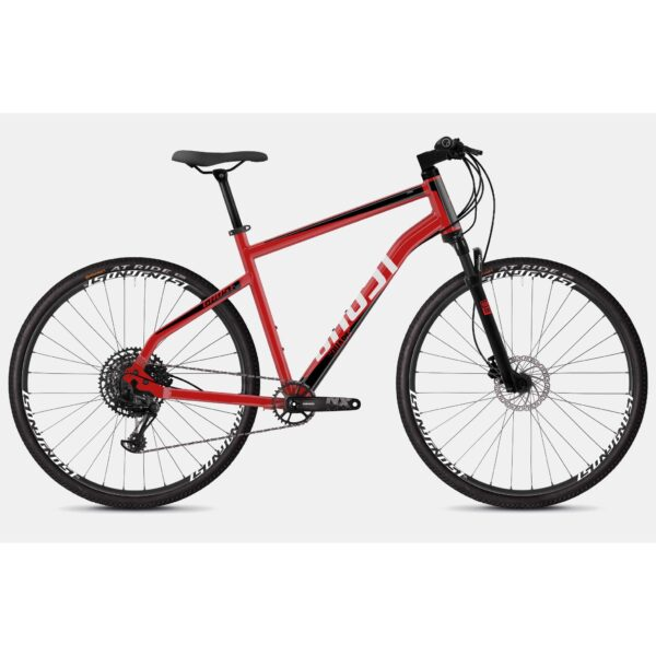 "Фото Велосипед Ghost Square Cross 4.8 28"" красно-черно-белый, L, 2019"