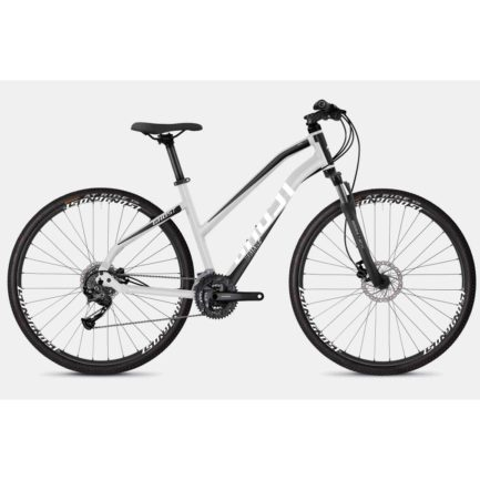 "Фото Велосипед Ghost Square Cross 1.8 Lady 28"", рама M, серебристо-черно-белый, 2019"