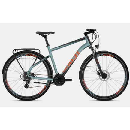 "Фото Велосипед Ghost Square Trekking 2.8 28"" сине-черно-оранжевый, L, 2019"
