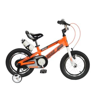 Фото Велосипед RoyalBaby SPACE NO.1 Alu 12″, OFFICIAL UA, оранжевый