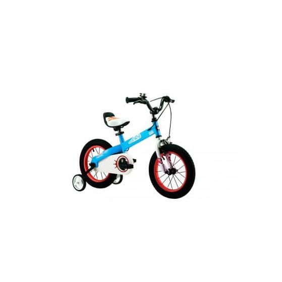 Фото Велосипед RoyalBaby HONEY 18″, OFFICIAL UA, синий
