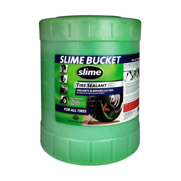 Фото Антипрокольная жидкость для камер Slime, 19л