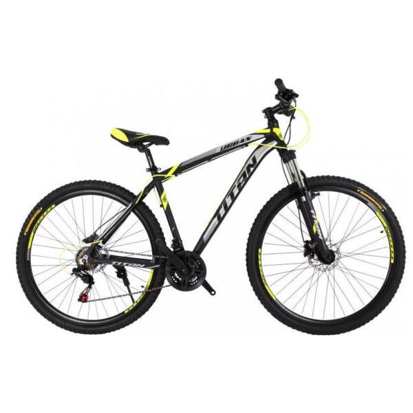 Фото Горный Велосипед 29 Titan Urban черно-желто-белый 2019