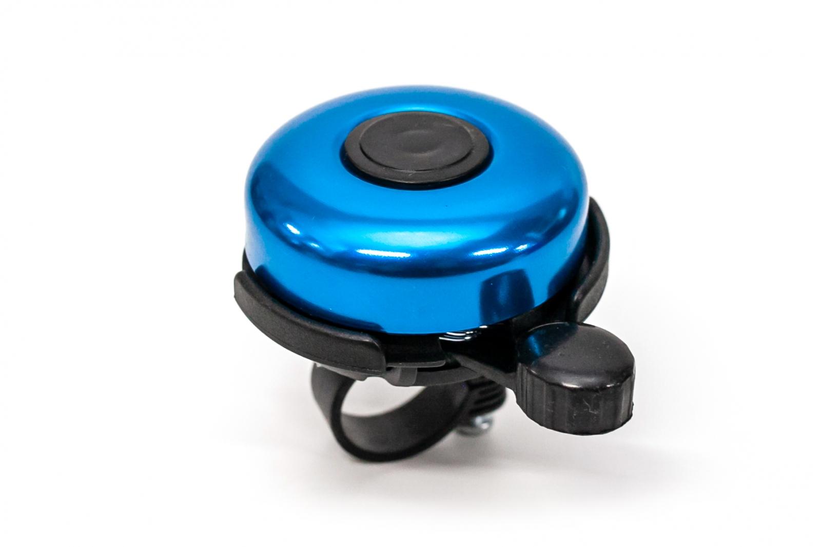Фото Звонок велосипедный классический синий BC-BB3204