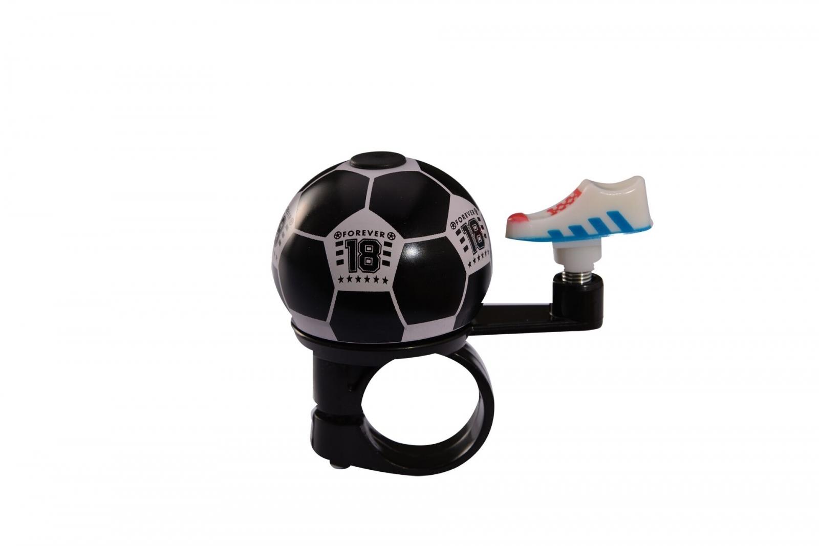 Фото Звонок велосипедный футбольный мяч BC-BB3209