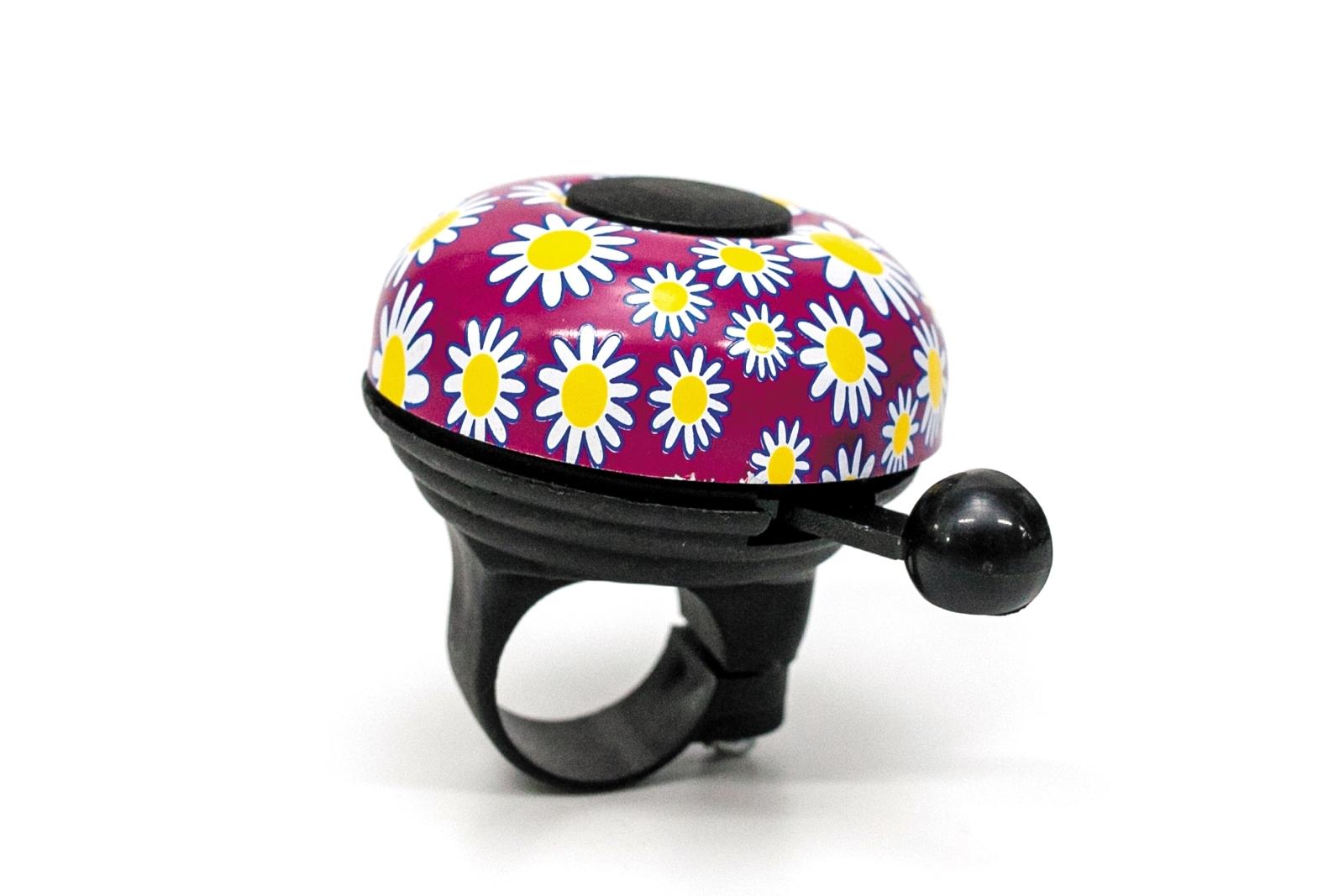 Фото Звонок с цветами фиолетовый BRAVVOS BEL003
