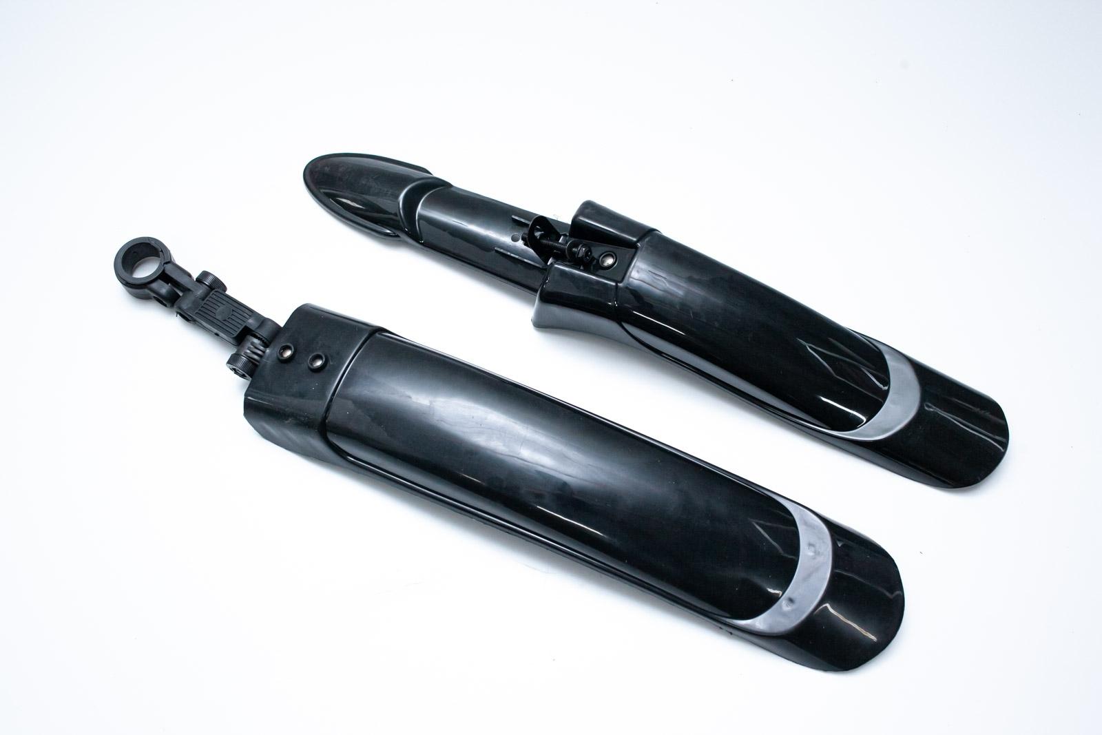 Фото Крыло 20-29″ Pl JT-007-1 пластиковый кронштейн (черн.)